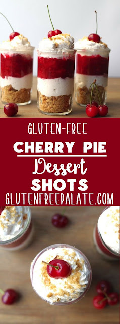 Gluten-Free Cherry Pie Dessert Shot
