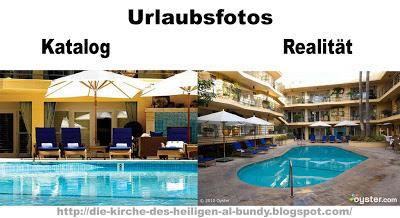 Urlaubsfotos  katalog und Realität