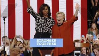 """Sin mencionar una sola vez el nombre del candidato republicano a la presidencia, Obama advirtió que Donald Trump tiene una visión """"aterrizada en la desesperanza y la desesperación"""""""
