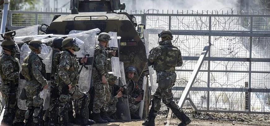 Σκοπιανοί στρατιώτες έκαναν το αυτονόητο έριξαν προειδοποιητικές βολές σε συμπλοκή με παράνομους μετανάστες
