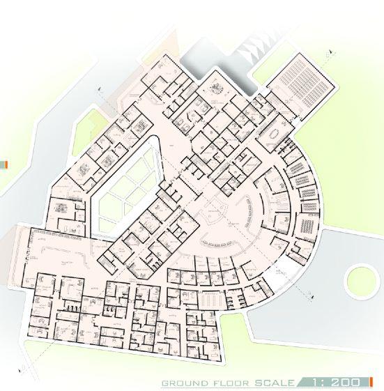 Maternity Hospital Floor Plan