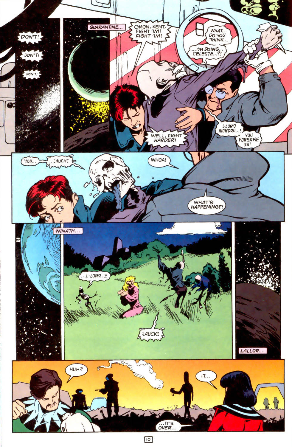 Legion of Super-Heroes (1989) 48 Page 10