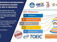 BANTUAN SERTIFIKASI INTERNASIONAL KEMAMPUAN BAHASA INGGRIS BAGI SISWA SMK DI INDONESIA
