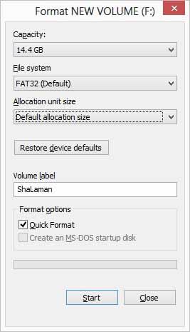 Cara Format Flashdisk yang Tidak Terbaca di Player