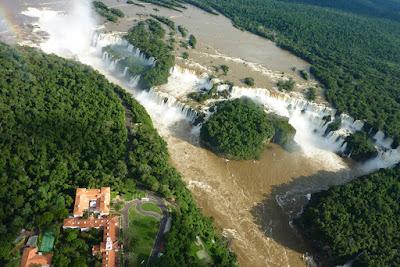 passeios de helicóptero na Cataratas do Iguaçu