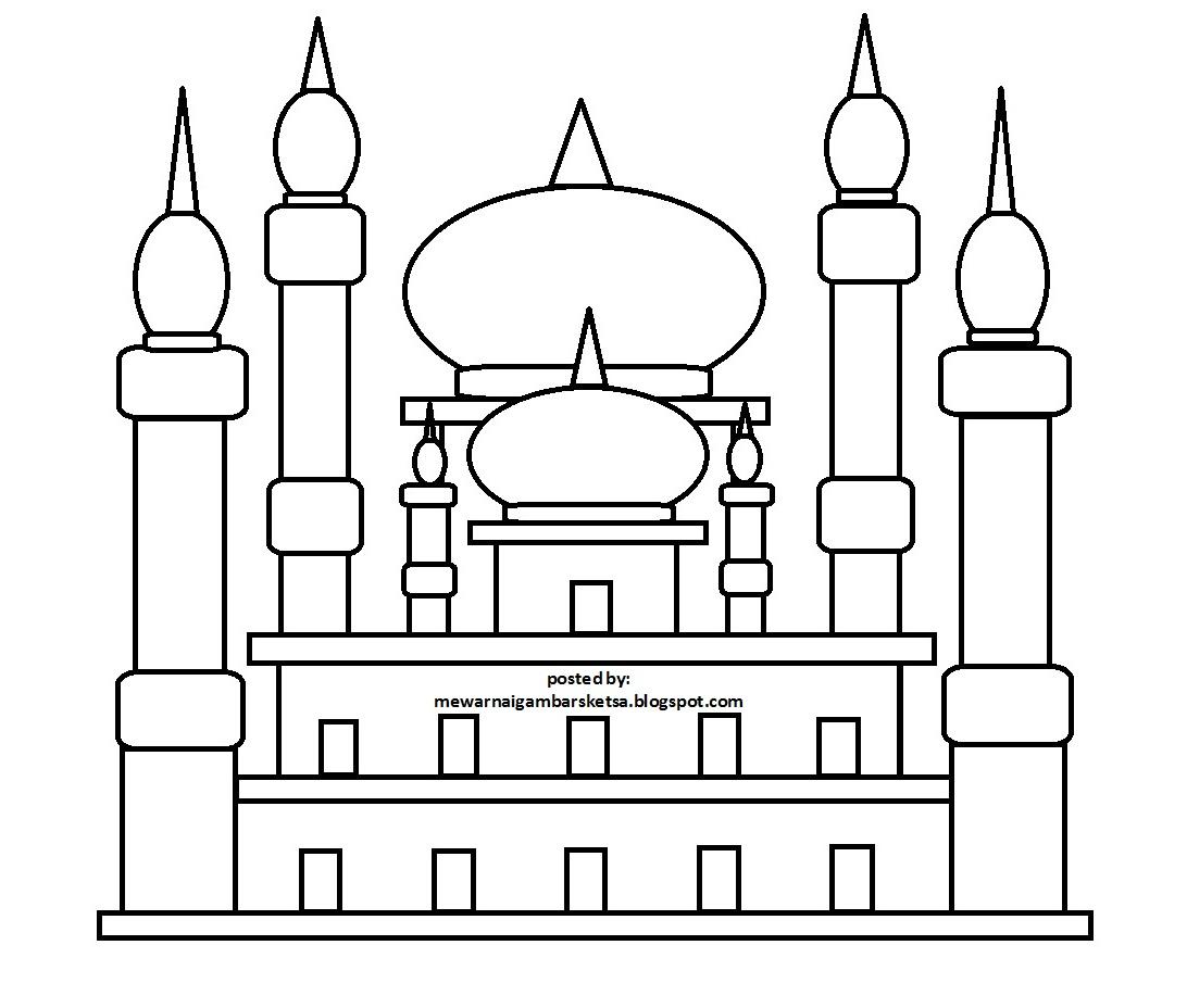 Berbagai contoh mewarnai gambar masjid mewarnai gambar masjid gambar mewarnai mewarnai gambar gambar masjid contoh mewarnai