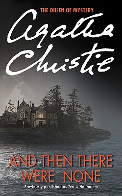 And Then There Were None by Agatha Christie - book cover
