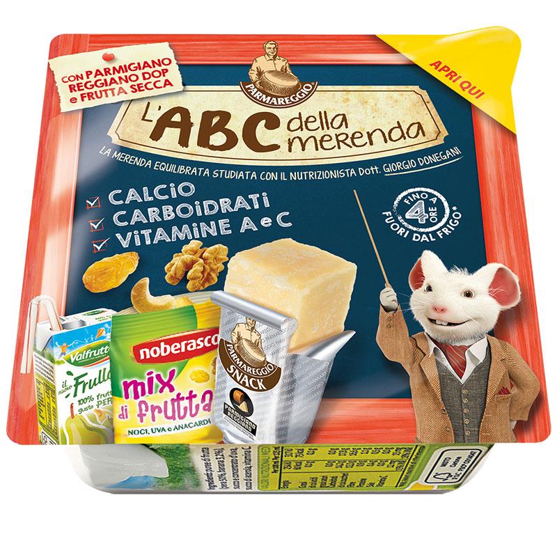 L'ABC della merenda Parmareggio Kit