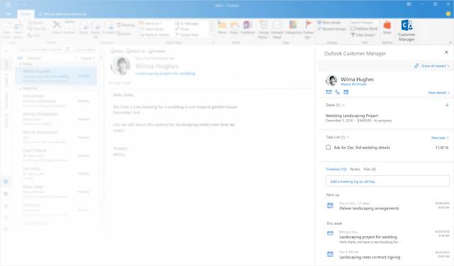 Outook Customer Manager, la nueva herramienta para Office 365