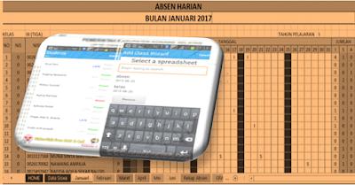 Aplikasi Absensi Siswa PC dan ANDROID (GRATISS)