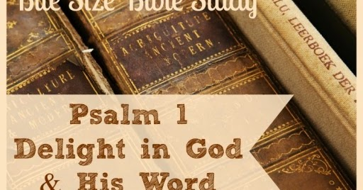 1 Minute Bible Love Notes Sheer Delight In God And His
