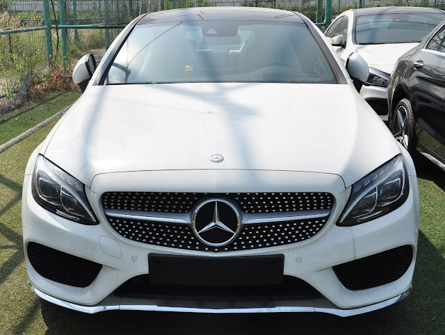 Mercedes C300 Coupe thiết kế thể thao mạnh mẽ