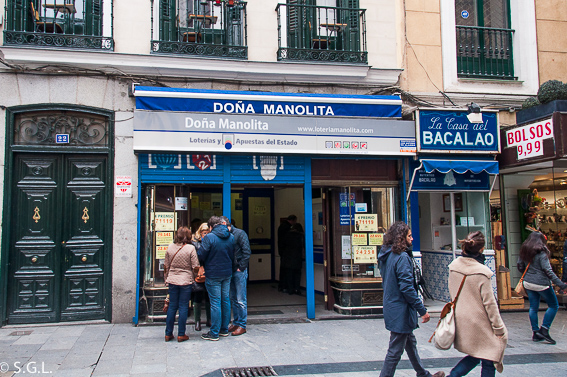 Doña Manolita. Ruta lowcost por Madrid