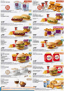 Free Printable Mcdonalds Coupons