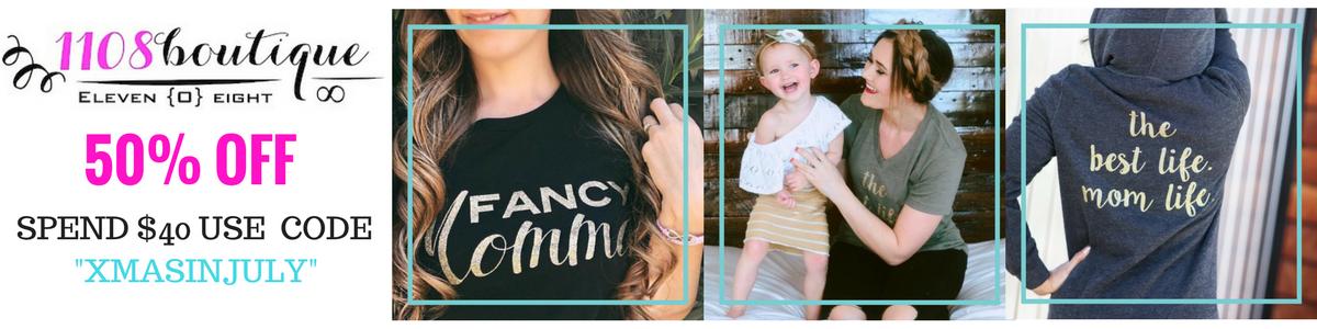 Motherhood Tees, Fancy Auntie Tanks, and Sassy Girl Apparel