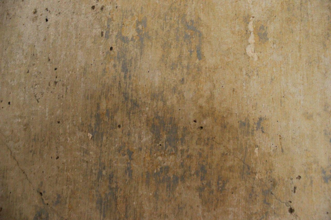 Afternibbin: bare plaster walls