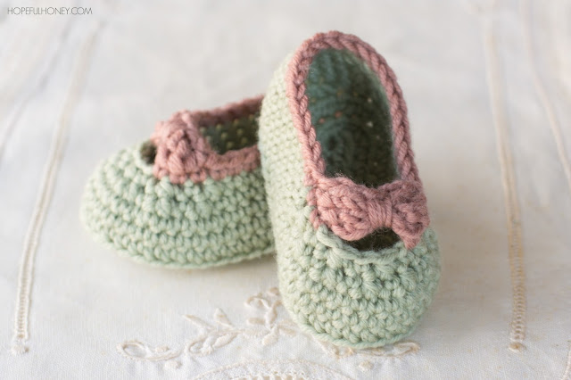 ... , Crochet, Create: Little Lady Baby Booties - Free Crochet Pattern