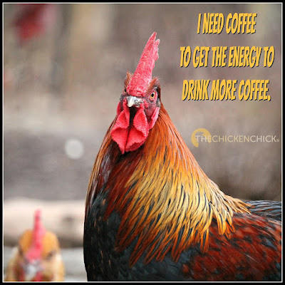 I need coffee to get the energy to drink more coffee.