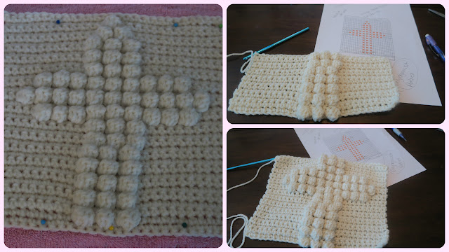 Organic Mom In The Kitchen Crochet Bobble Stitch Blanket