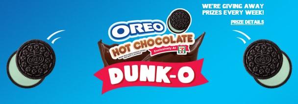 OREO HOT CHOCOLATE DUNK-O AT 7-ELEVEN IWG
