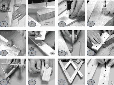 Cara membuat alat gambar (pantograph)  sendiri