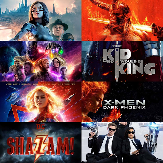 recommended movie blockbusters of  2019 xryho nunkmho