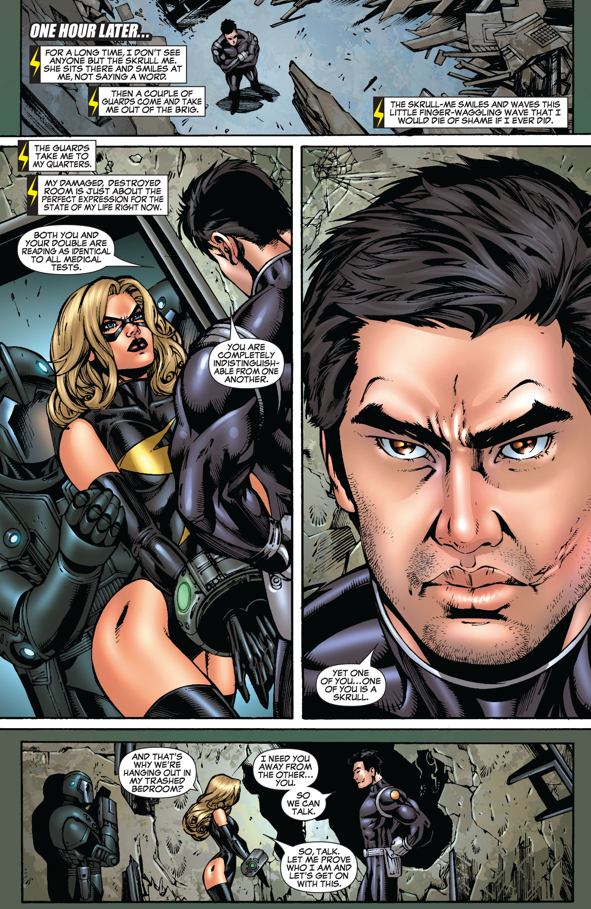 Read online Secret Invasion: The Infiltration comic -  Issue #9 - 16