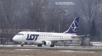 Embraer ERJ-170SE nr SP-LDI, Polskie Linie Lotnicze, Kraków Airport