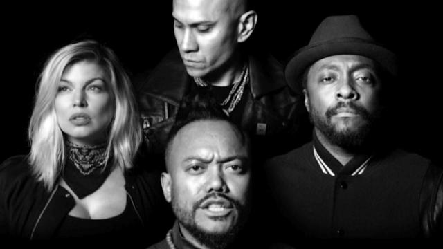 """Famosos se unen en el video de """"Where's the Love"""" de The Black Eyed Peas."""