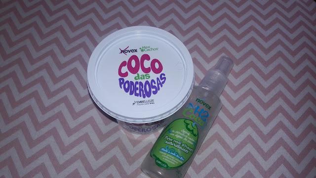 pote de creme e vidro com água de coco embelleze