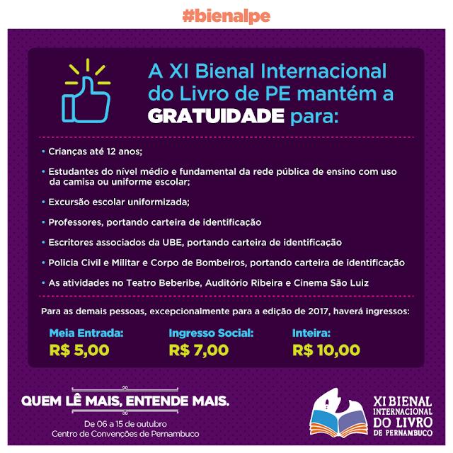 RAPIDINHAS: XI Bienal do Livro de Pernambuco + parceria com Fernanda Regina