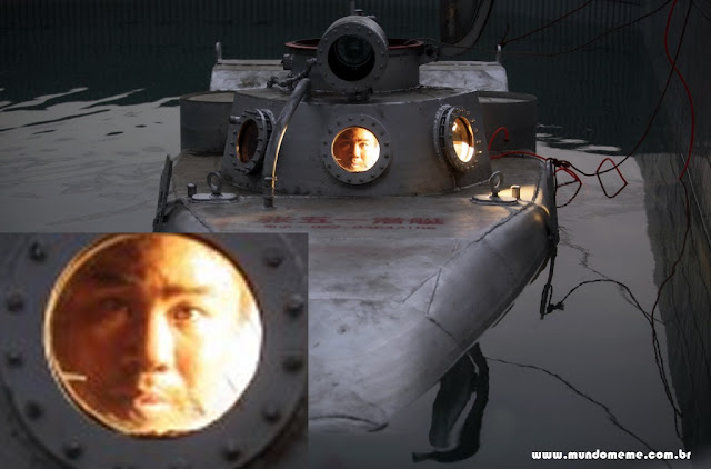 www.mundomeme.com.br - Novos submarinos de guerra norte coreanos