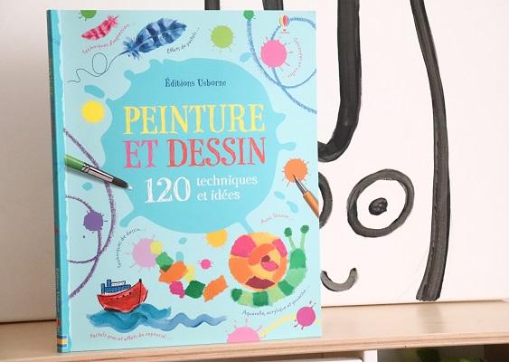 Peinture et dessin 120 techniques et idées , Usborne