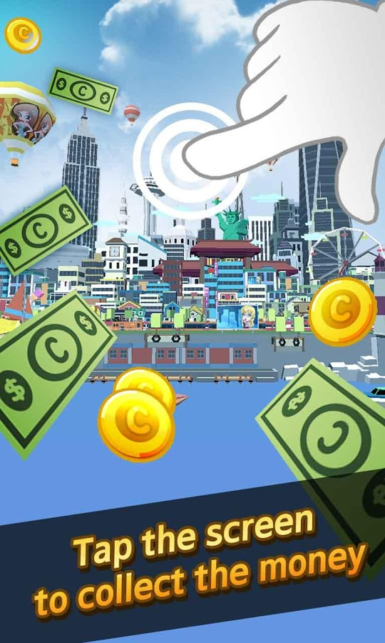 City Growing-Touch in the City MOD APK