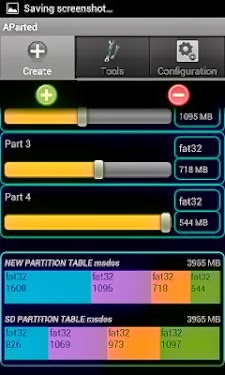 Cara Membuat, Menghapus dan Format Partisi Android Dengan AParted ( Sd card Partition )