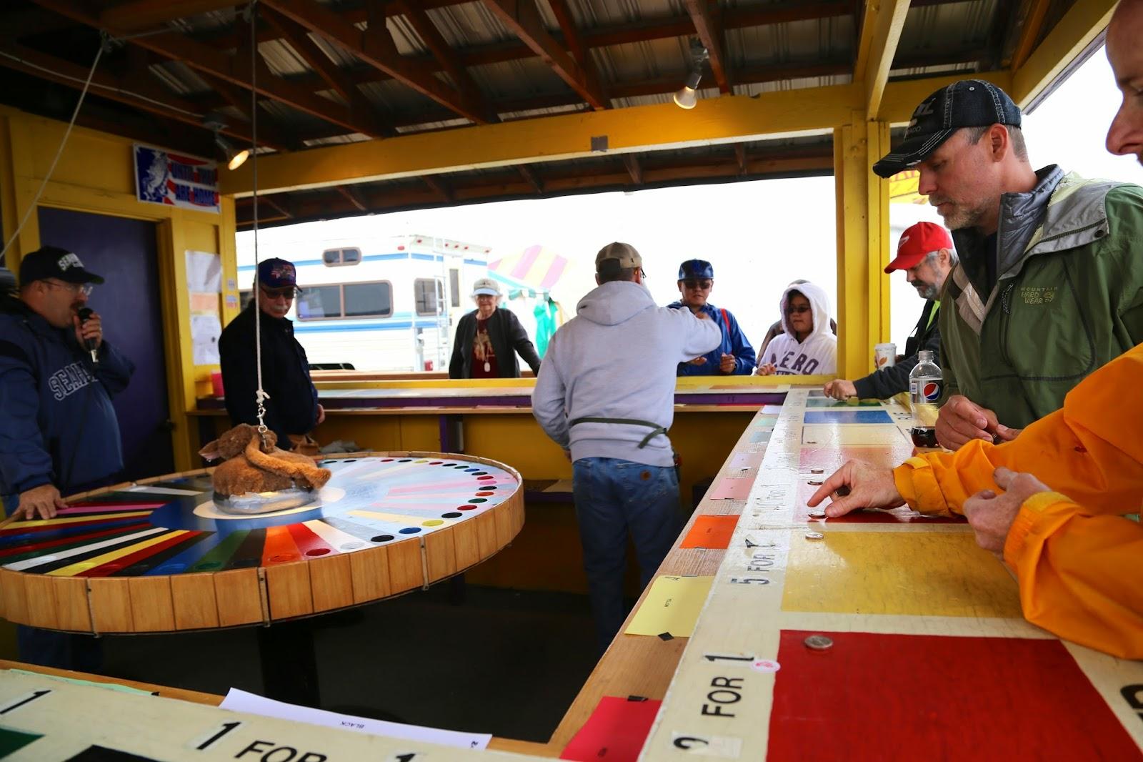 White rat roulette, Alaska State Fair