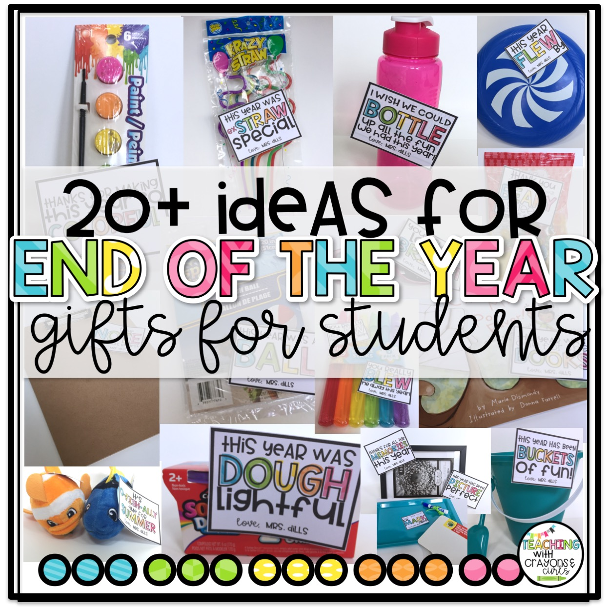 the end of the year countdown is on and i wanted to share some easy and inexpensive student gifts for the end of the year