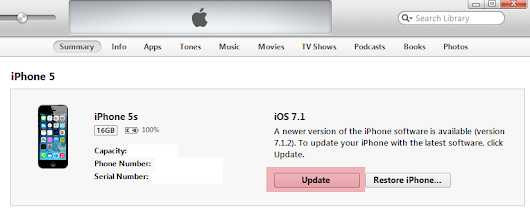 Problems updating iPhone to iOS 7.1.2: what to do?