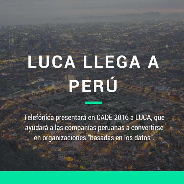 Perú se une al viaje Data-Driven