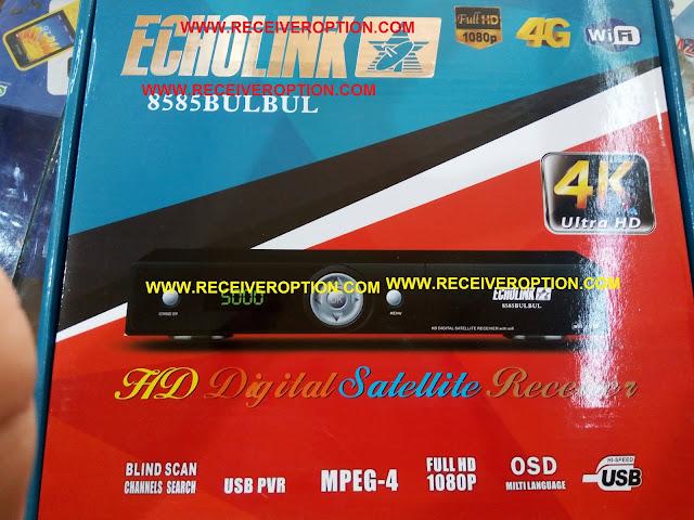 ECHOLINK 8585 BULBUL HD RECEIVER CCCAM OPTION