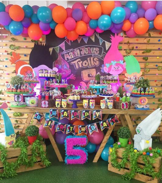 101 Fiestas 20 Originales Fiestas De Trolls