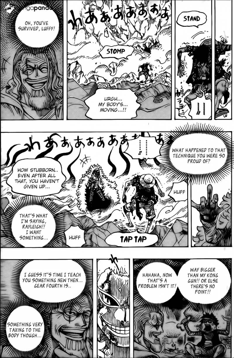 One Piece Ch 790: Heaven and Earth