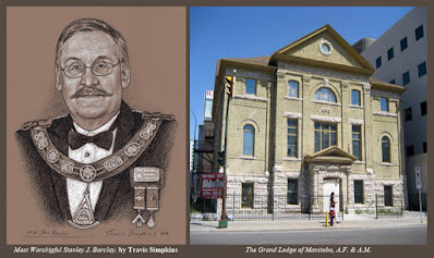 Stan Barclay. Past Grand Master. by Travis Simpkins. Grand Lodge of Manitoba