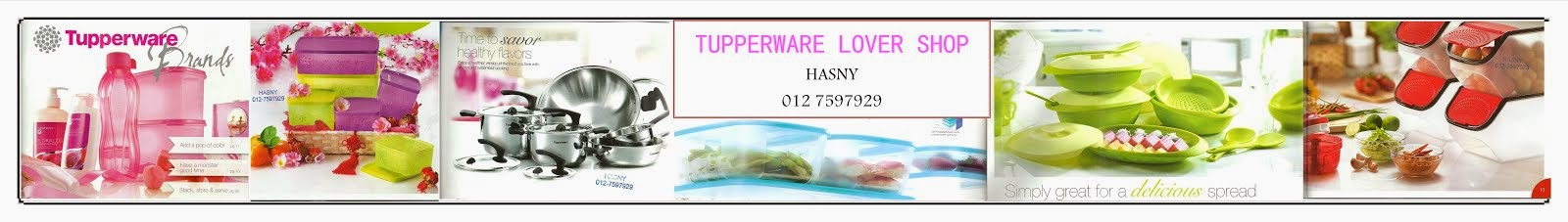 Tupperware Lover Shop