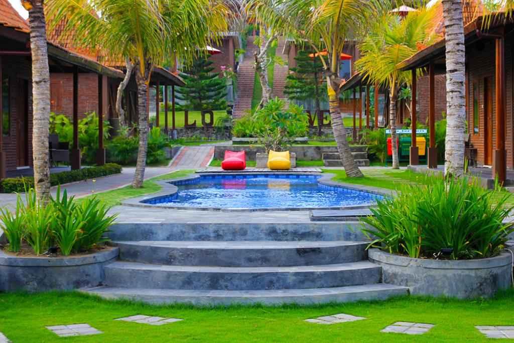 Sea Medewi Resort Beach front of West Bali Jembrana Need