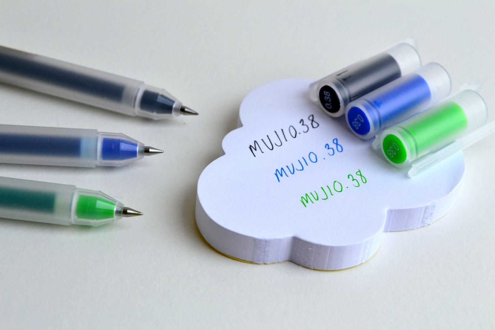 My Muji Haul: pens