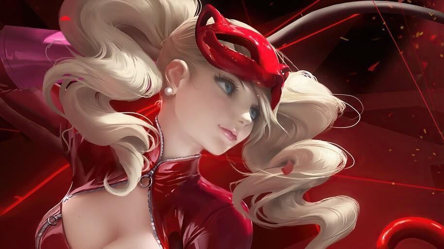 Ann Takamaki, Persona 5, Anime, Girl, 4K, #4.2439