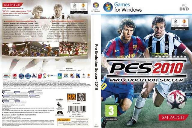 تحميل لعبه بيس PES 2010 برابط واحد على ميديا فاير