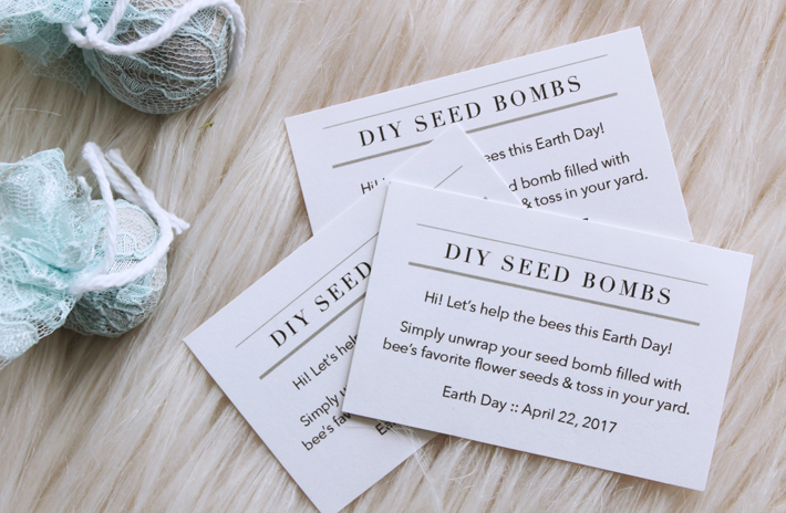 DIY Earth Day Seed Bombs by @thehooknook