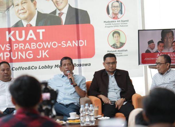 Saat Daeng Ancu Pamit ke Jusuf Kalla untuk Membela Prabowo-Sandi